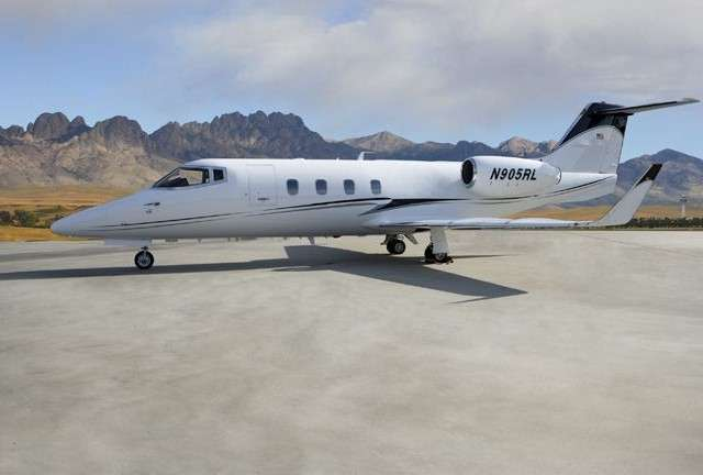 Lear 55 Private Jet