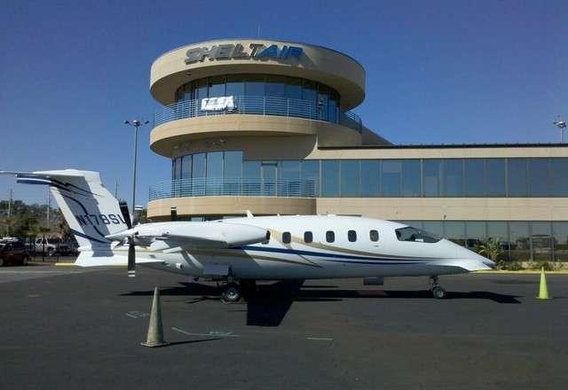 Piaggio Avanti II charter plane exterior