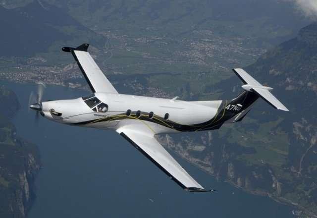 Charter Pilatus PC12 Exterior