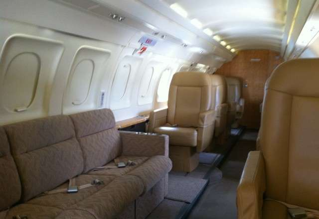 Saab 340a Interior