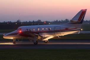 Jetstream 31 Landing