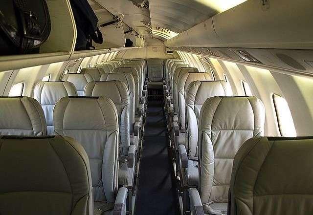 Saab 340b Interior
