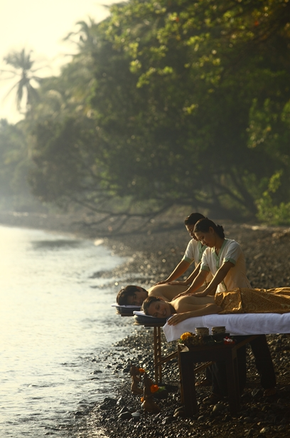 Discover a world away from it all at the Spa Village Resort in Tembok, Bali.  Photo by YTL Hotels.