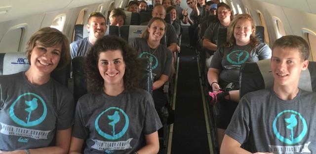 Church Group Jet Charter Flight