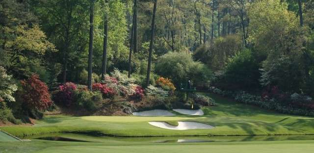 Charter a plane to The Masters