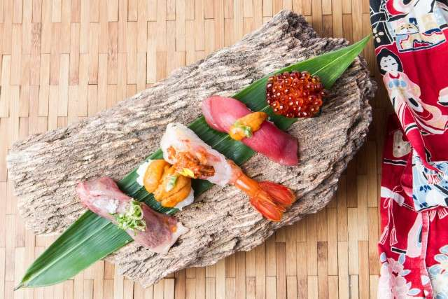 Sushi is admired as much for its visual appeal as it is for its distinct flavour and texture.
