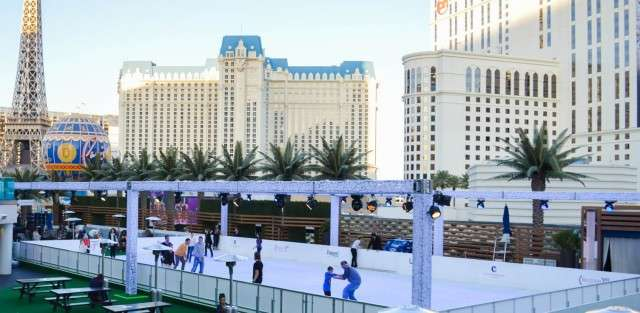 Ice Skating in LAs Vegas