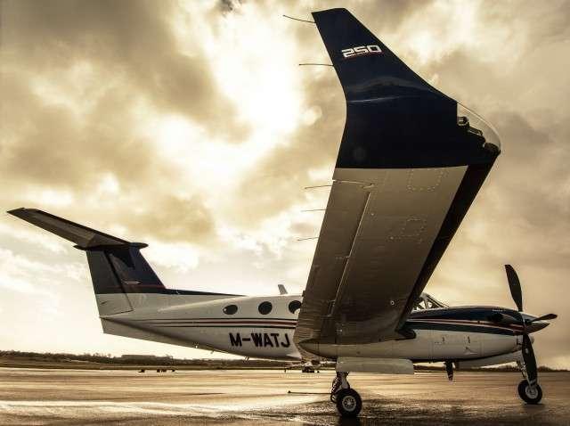 Charter a King Air 250