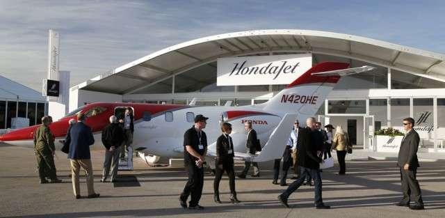 Honda Jet At NBAA