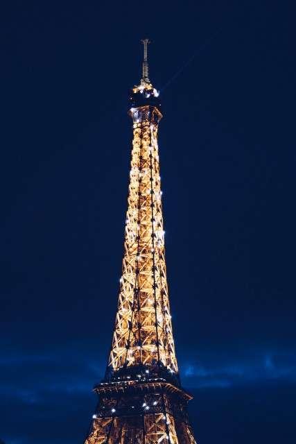 Le Eiffel, Paris, France. Photo by Anthony Delanoix, unsplash.com.