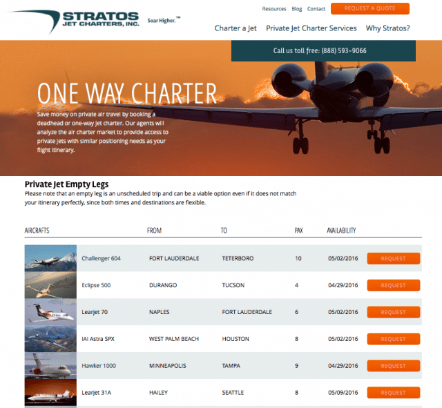 When to book private jet charters