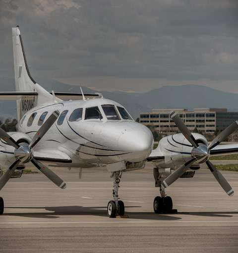 Turbo Prop Charter Planes