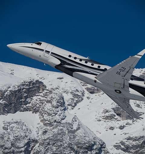 Heavy Charter Jets
