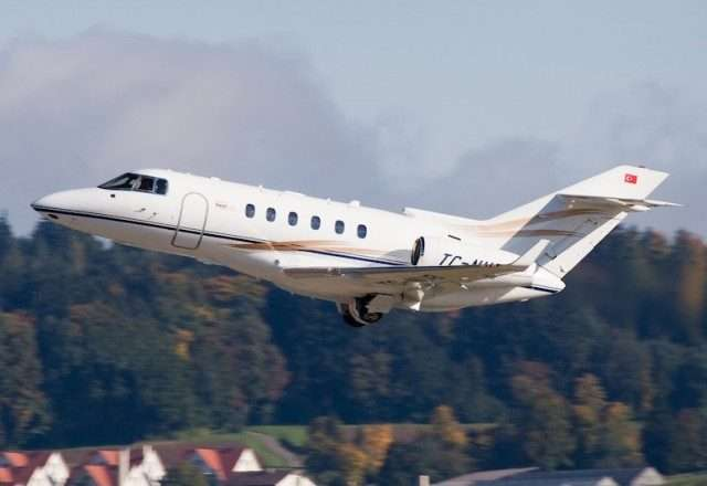 Hawker 800XP private jet charters