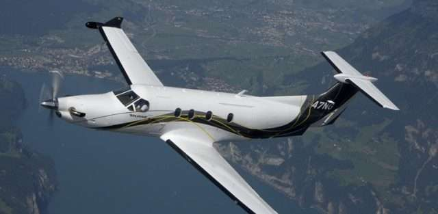 Pilatus PC12 private jet charters