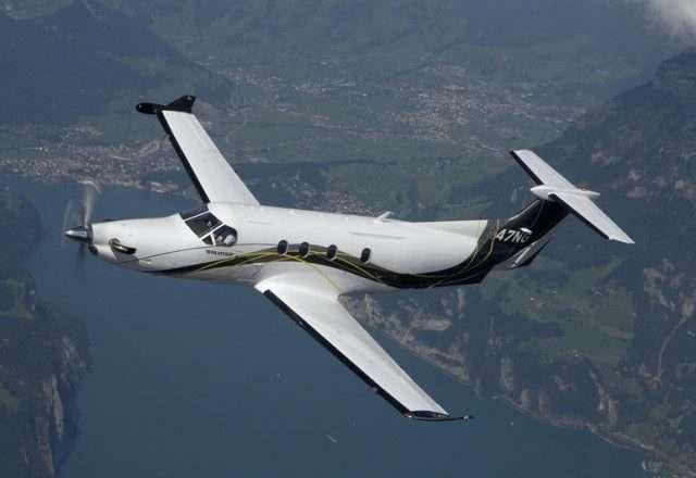 Pilatus PC12 private jet charters