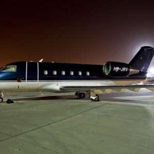 Bombardier challenger 600 exterior