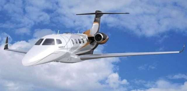 Embraer business jets Phenom 300