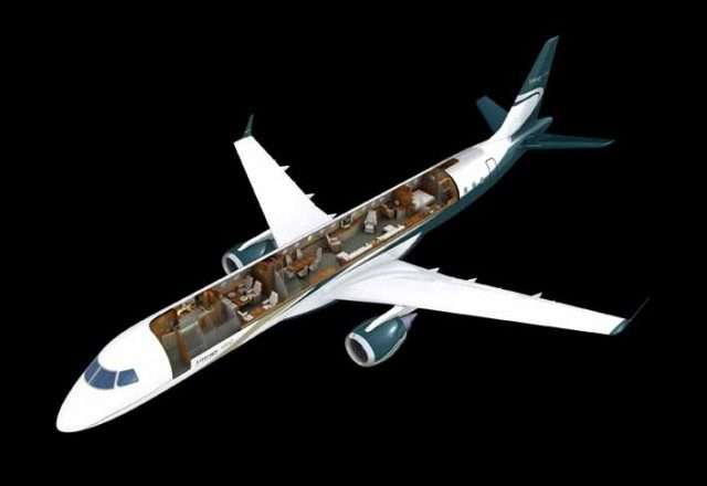 Embraer business jets_Lineage 1000