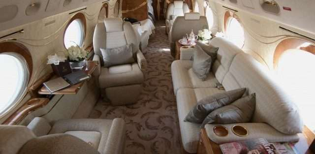 Gulfstream business jets_GIV-SP interior