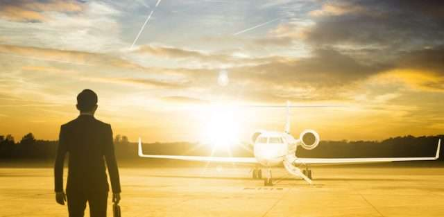 private jet charter and business traveller