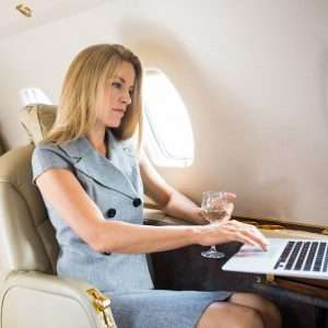 private jet charter communications