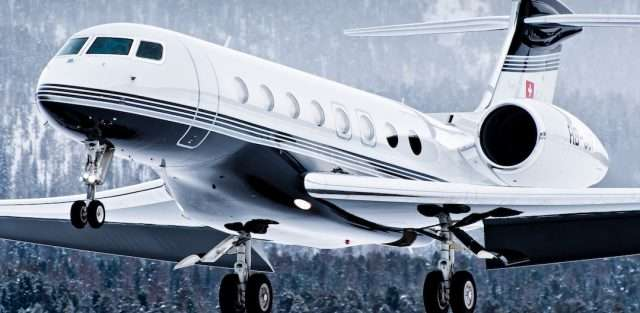 Gulfstream 650 Private Jet