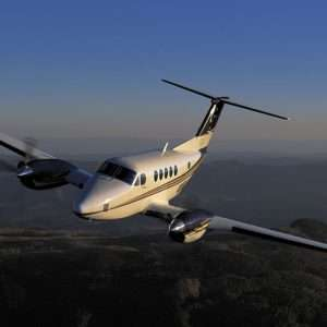 turboprop charter planes - King Air 200