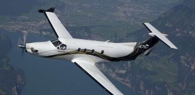 turboprop charter planes - Pilatus PC12