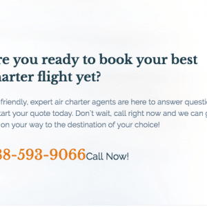 Best Private Jet Charter Company