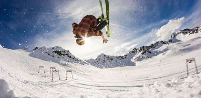 private jet flights for spring skiing