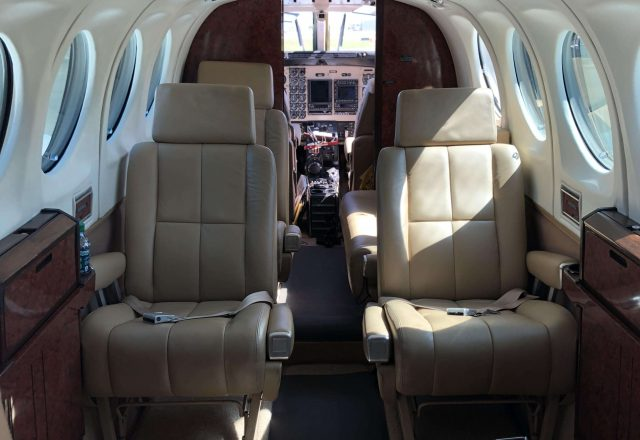 Charter King Air 100 Flight