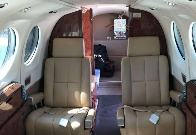 King Air 100 Charter Flight