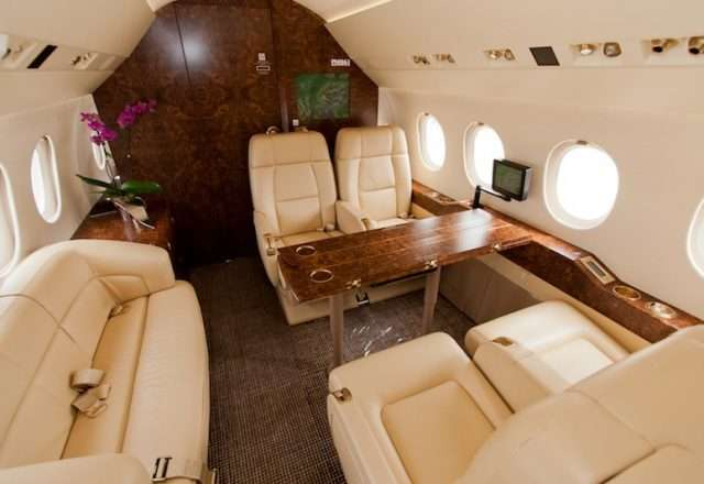 Falcon 2000LX Private Jet Charter