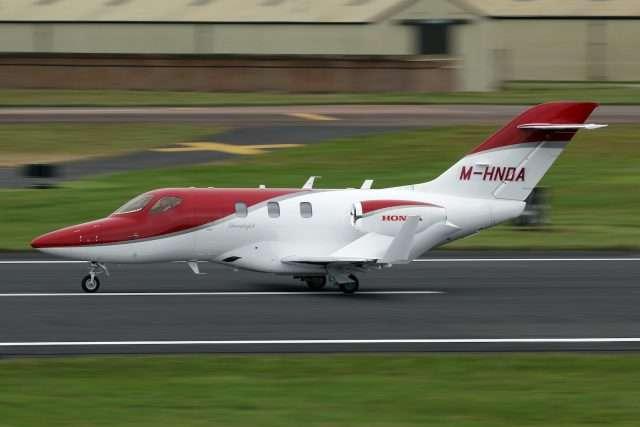 Honda Jet Charter Flight