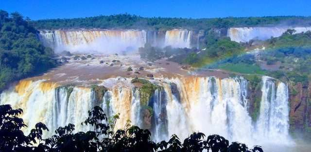private jet charter to world's best waterfalls