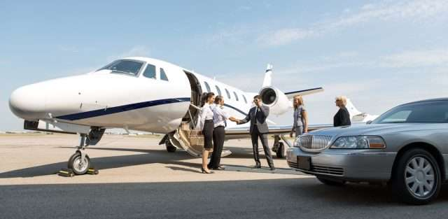 private jet airports