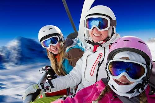 private jet rental for ski holiday