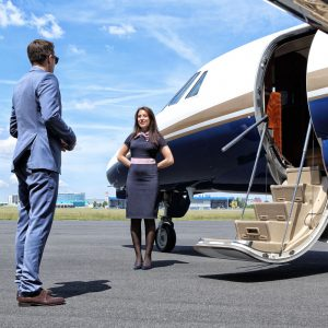 Choosing a Private Jet Charter Cabin Interior for Comfort