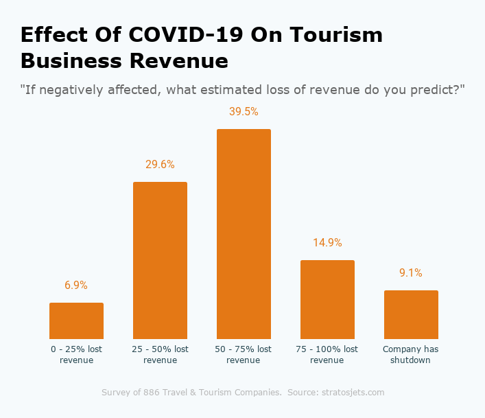 Effect Of COVID-19 On Tourism Business Revenues