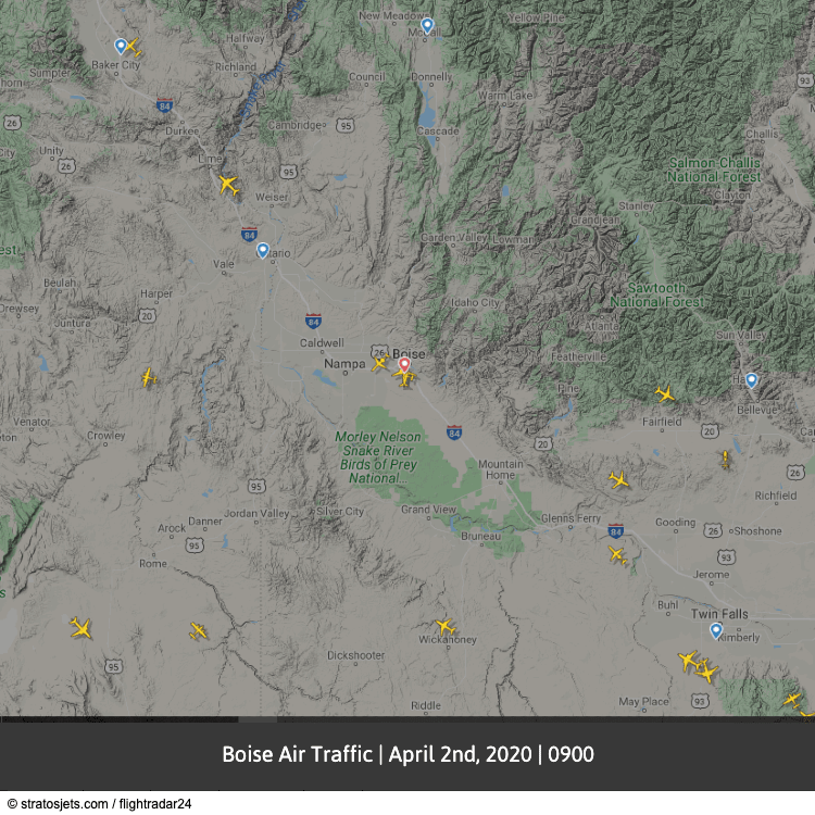 Boise Air Traffic April-min