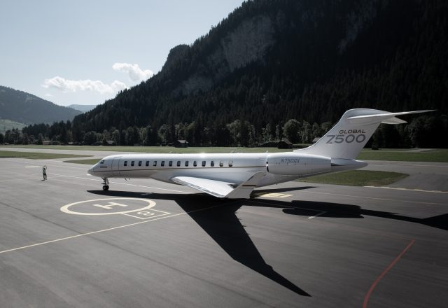 Global 7500 Private jet