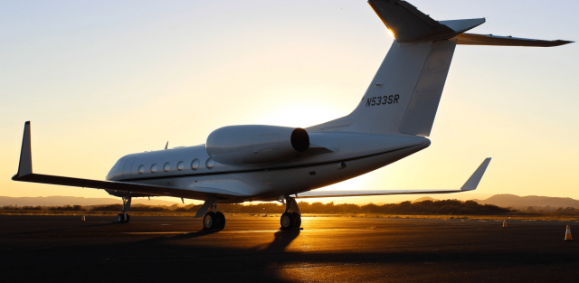 picture of a private jet